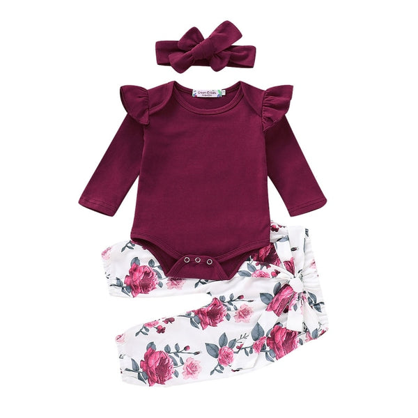 Princess Girl Romper Set