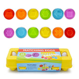12 Pieces Eggs Educational Toys