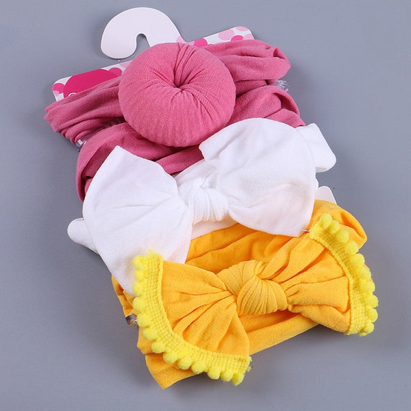 3 Pieces Kids Floral Headband
