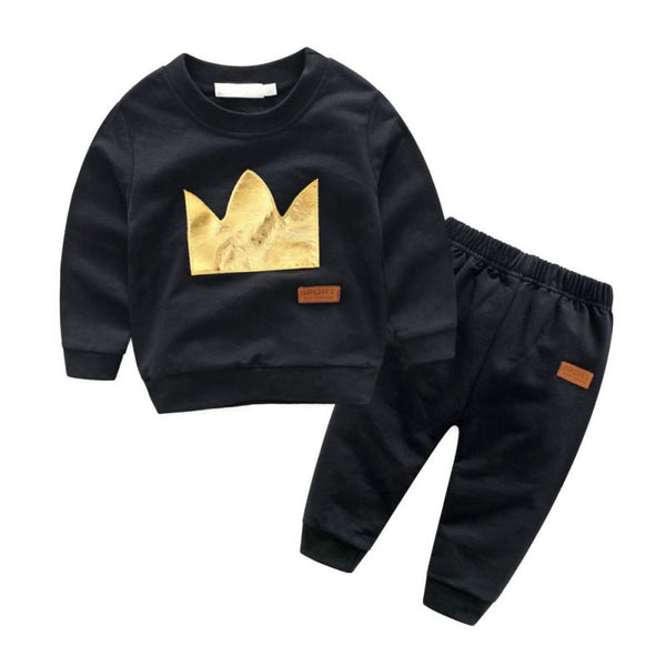 Spring Autumn Kids Cotton Tracksuits