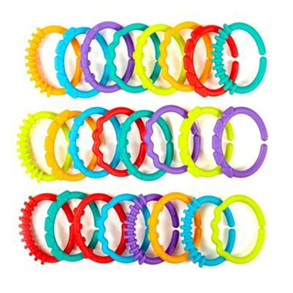 Cute Colorful Rainbow Rings