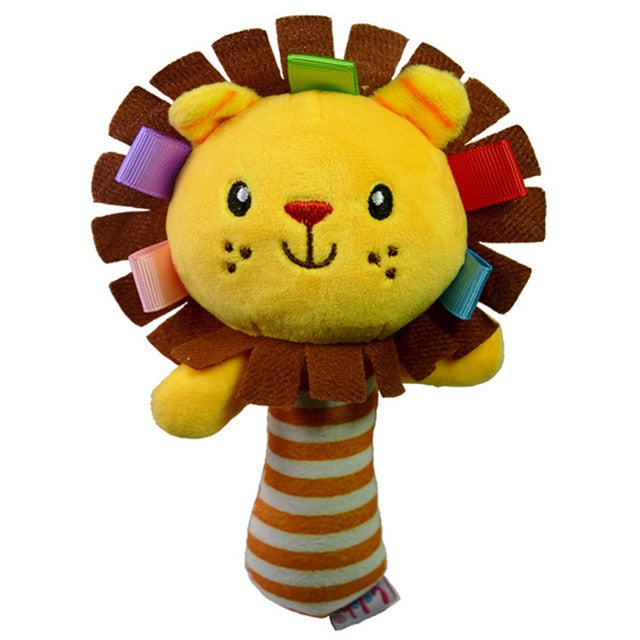 Plush Hand Rattle Toy