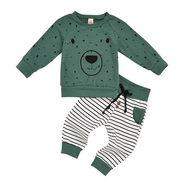 Spring Baby Boy Clothing Set