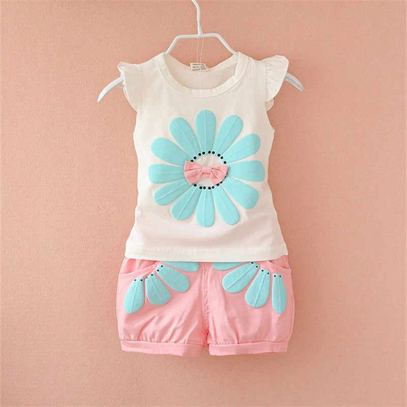 Baby Girl Sleeveless Outfits