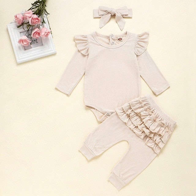 Newborn T-Shirt Romper Set