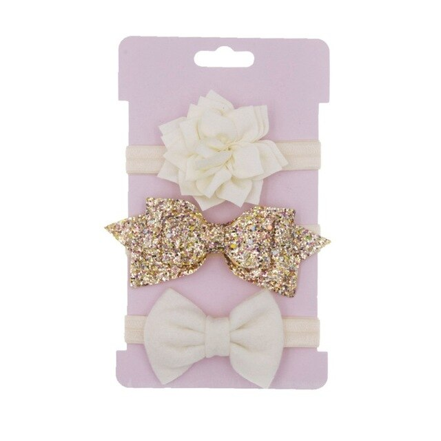 3 Pieces Baby Girls Headband