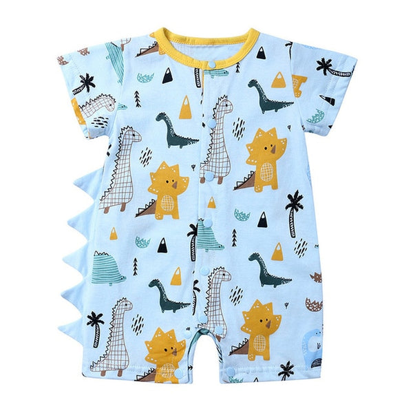 Baby Summer Printed Jumpsuits