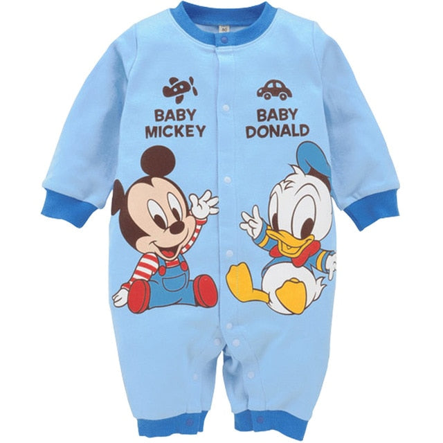 Disney Cartoon Baby Rompers