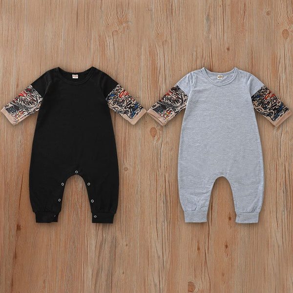 Baby Tattoo Sleeve Romper