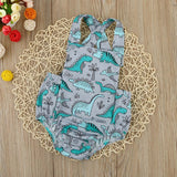Infant Baby Backless Jumpsuit
