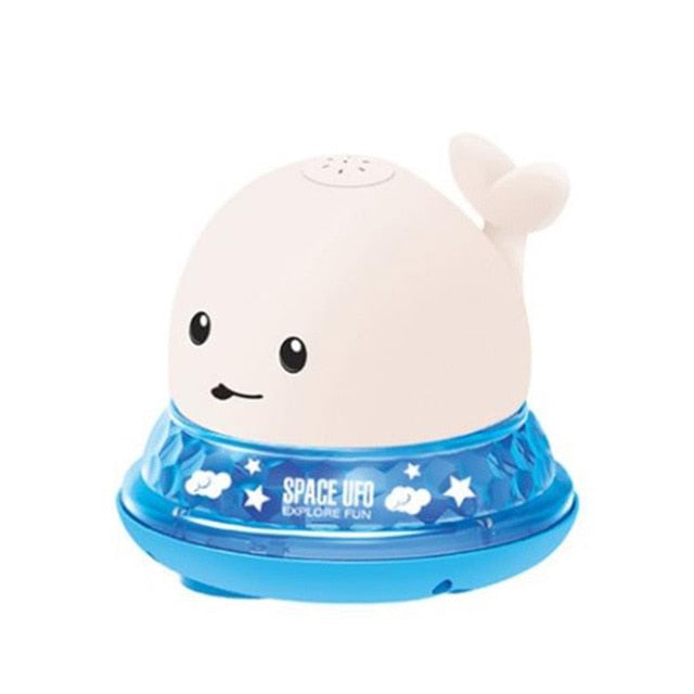 Electric Water Sprinkler Whale Toy
