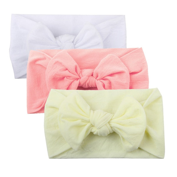 3 Pieces Baby Knot Turban