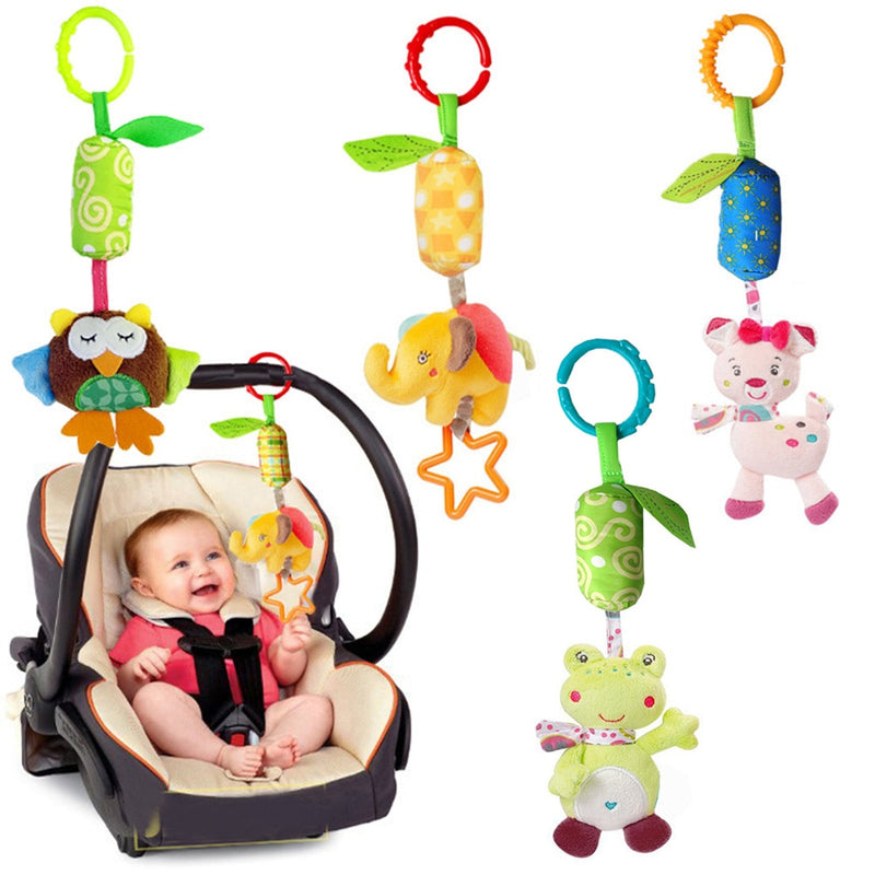Baby Stroller Educational Rattles