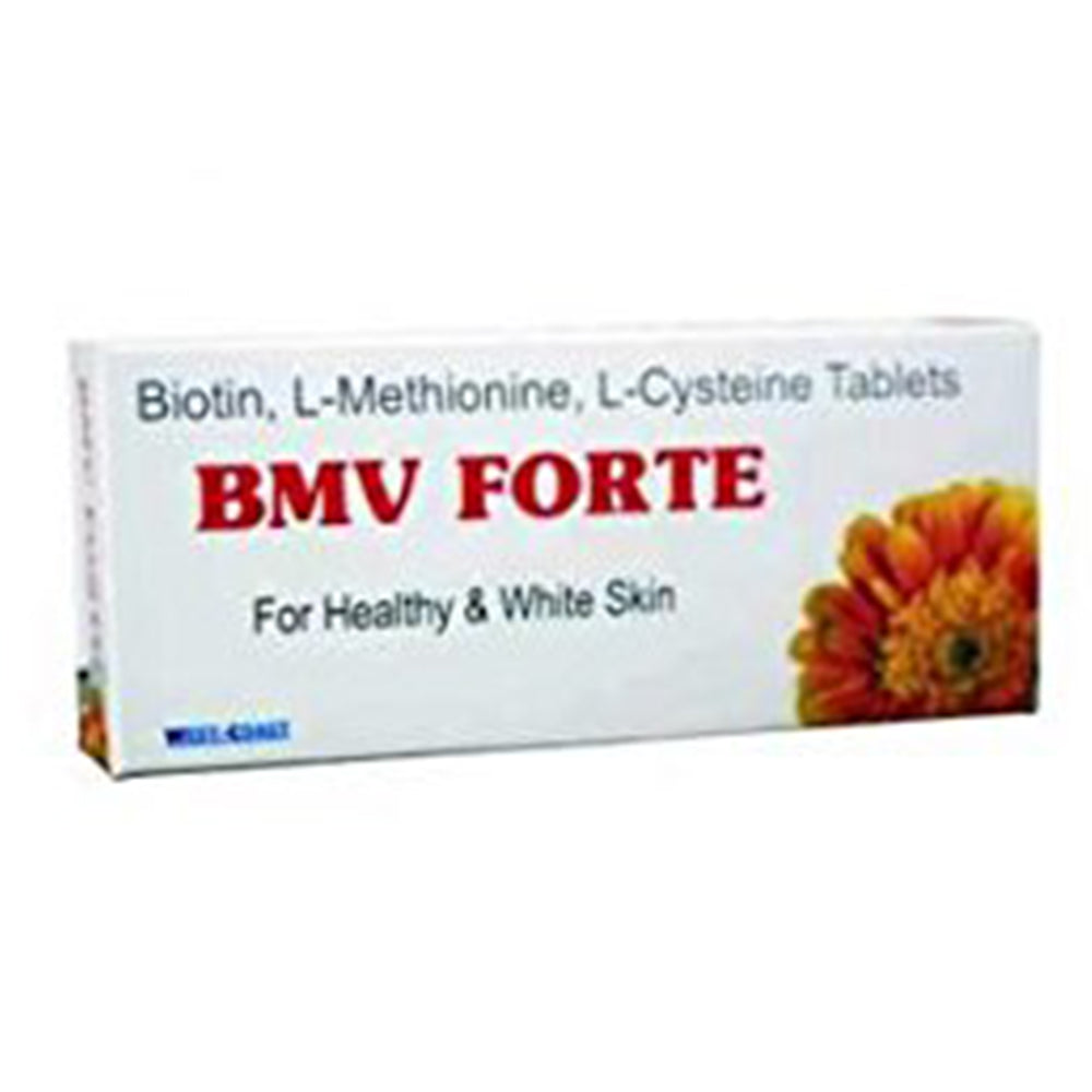 BMV Forte For Healthy & White Skin, 30 Tablets