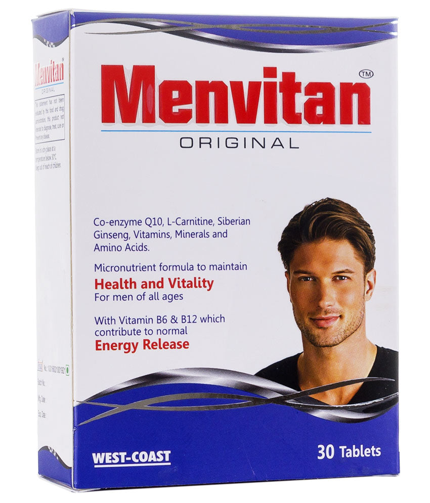 West-Coast Menvitan Original, 30 Tablets