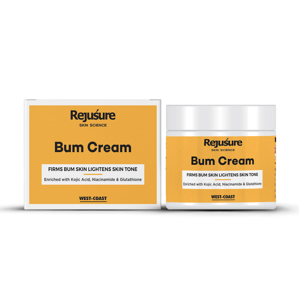 Rejusure Bum Cream – Firms Bum Skin Lightens Skin Tone – 50 gm