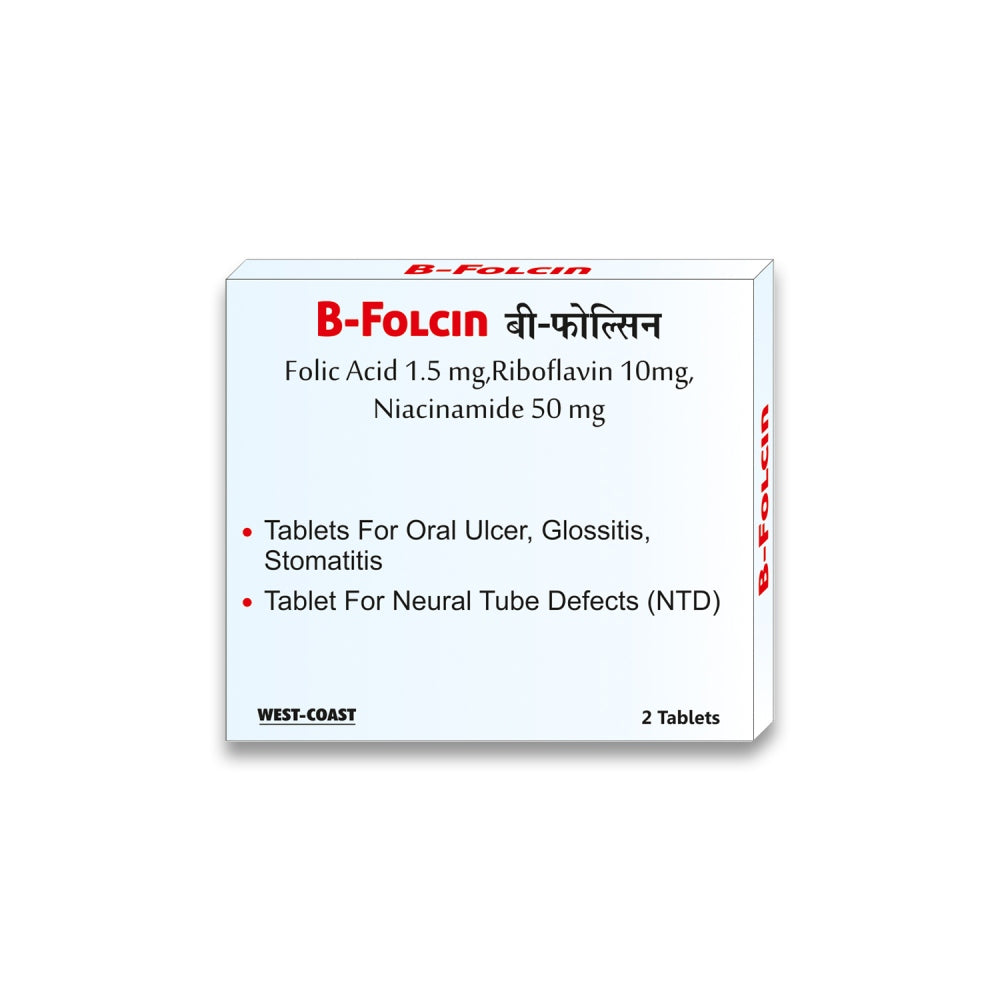 West Coast B Folcin - 300 Tablets
