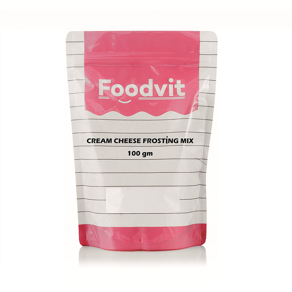 Foodvit Cream Cheese Frosting Mix Powder 100g