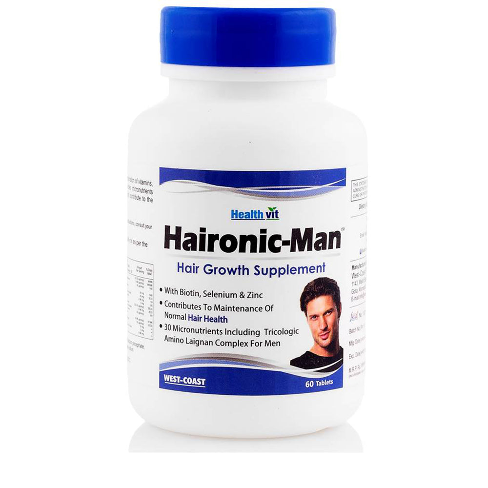 West-Coast Haironic Hair Management Formula for Man, 60 Tablets