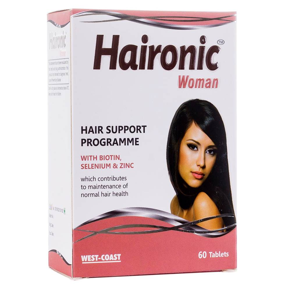 West-Coast Haironic woman, 60 Tablets