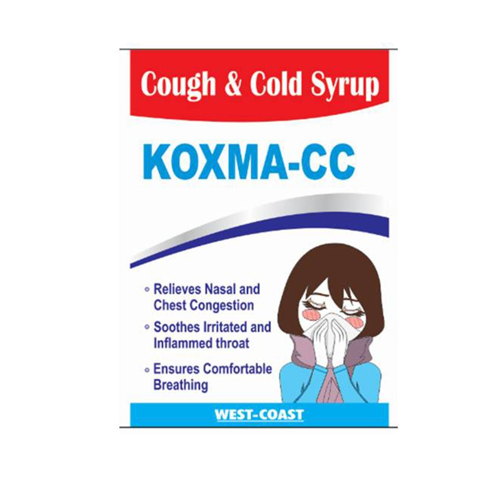 West Coast Koxma-CC Syrup - 100ml