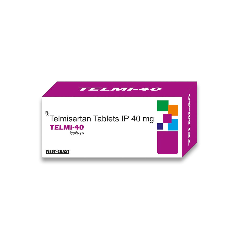 West Coast TELMI-40mg - 100 Tablets