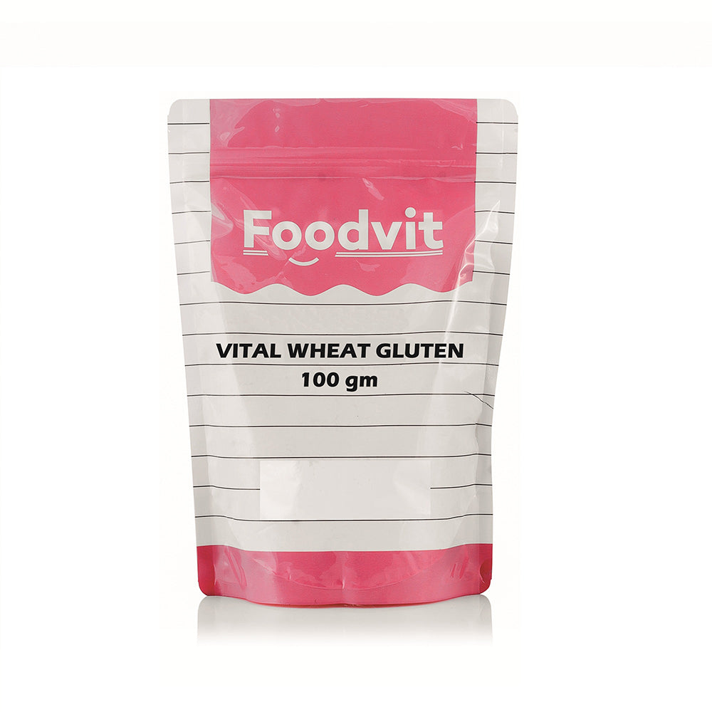 Foodvit Vital Wheat Gluten Powder 100g