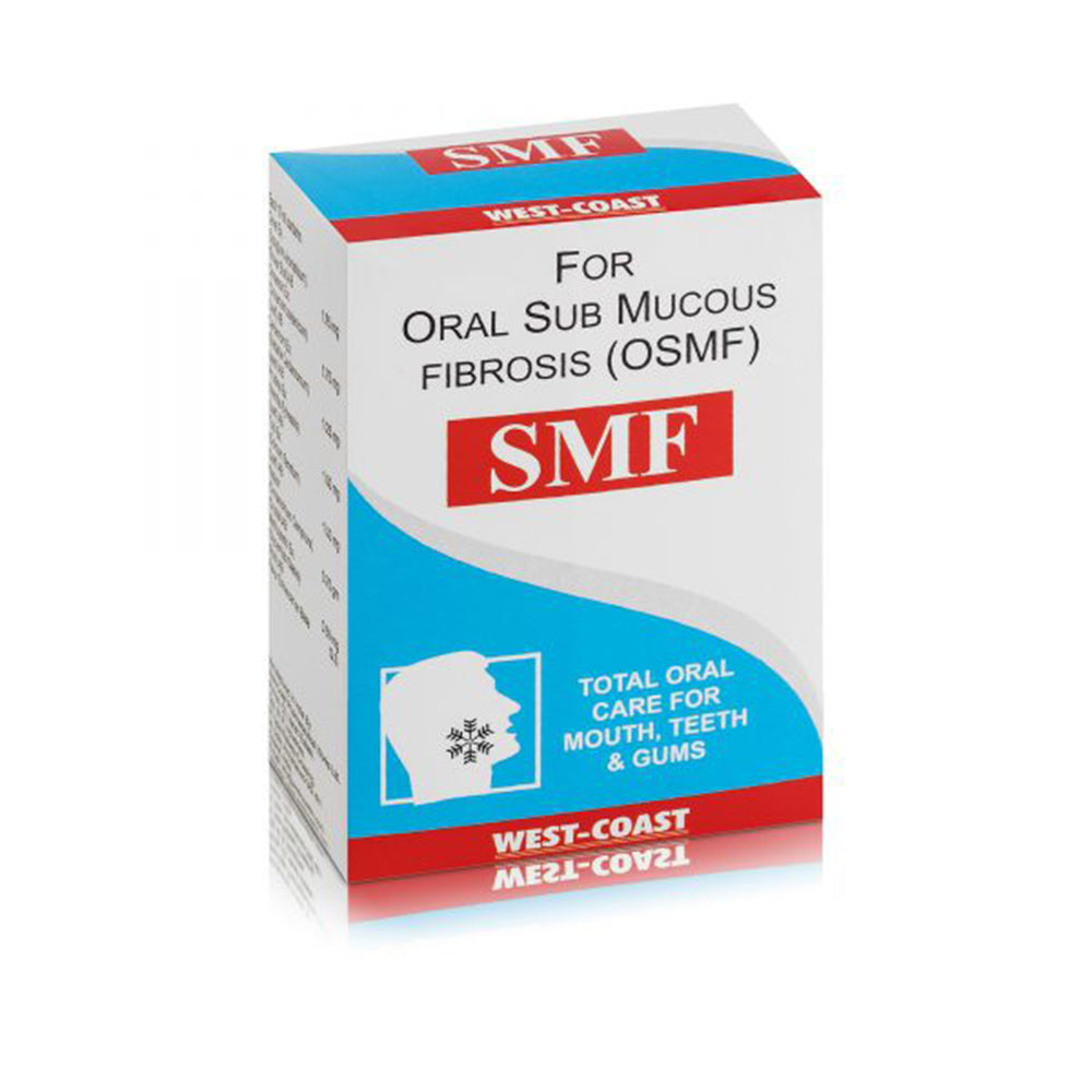 SMF For Oral Sub Mucous Fibrosis (OSMF) 12ml
