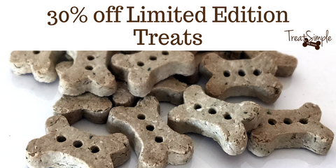 30% off limited edition treats sale