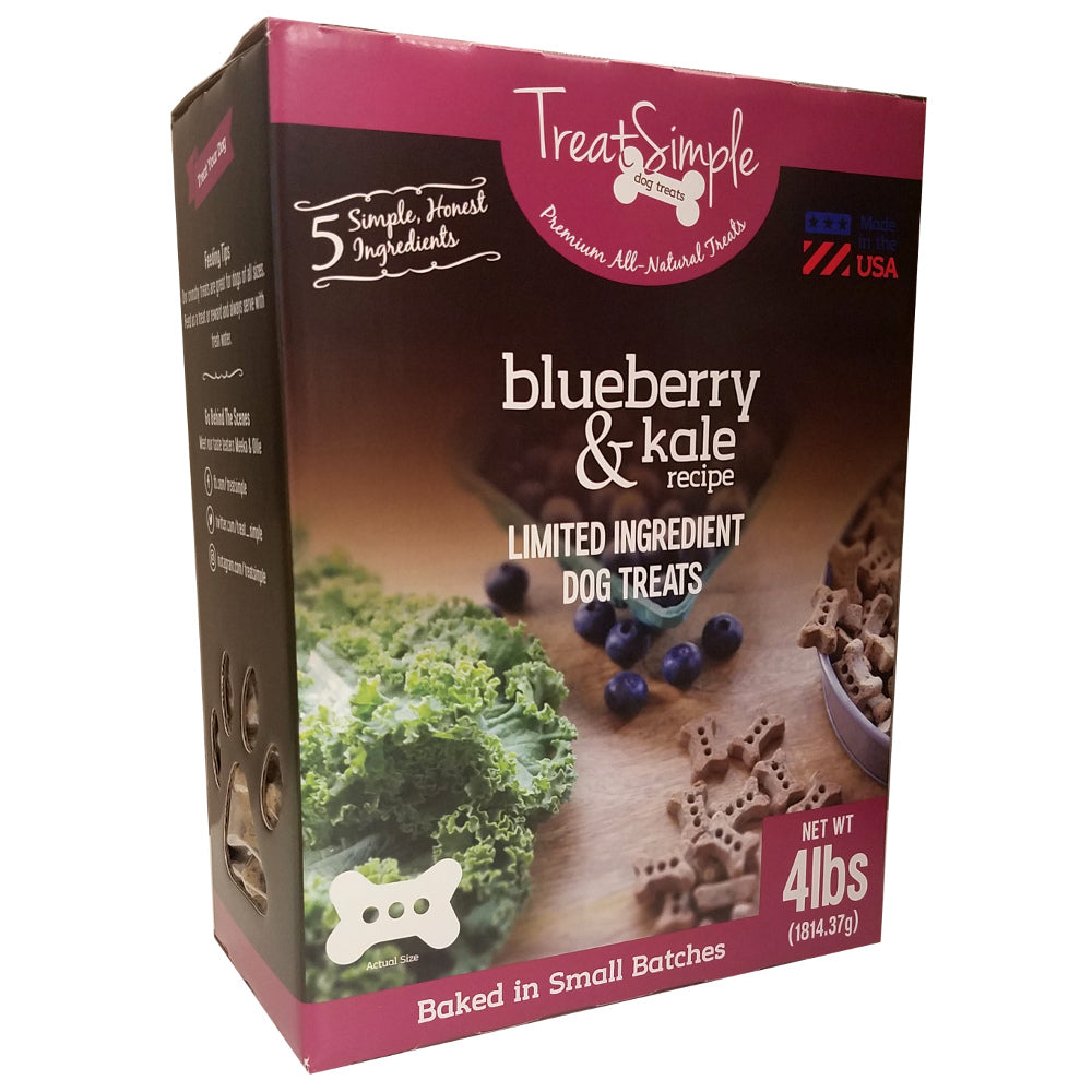 Large Bones - Blueberry Kale Recipe Value size 4 lbs