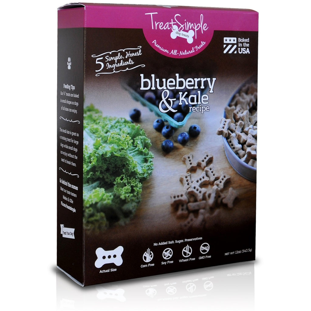 Blueberry & Kale Dog Treats - TreatSimple