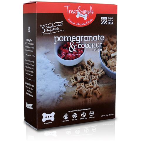 Pomegranate & Coconut Recipe - Original Small Bones (12 oz)