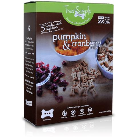 Pumpkin & Cranberry Recipe - Original Small Bones (12 oz)