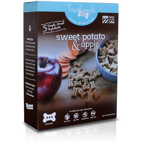 Sweet Potato & Apple Recipe -Original Small Bones (12 oz)