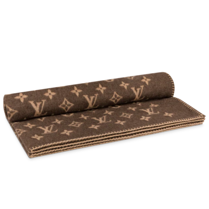 Monogram Throw Blanket