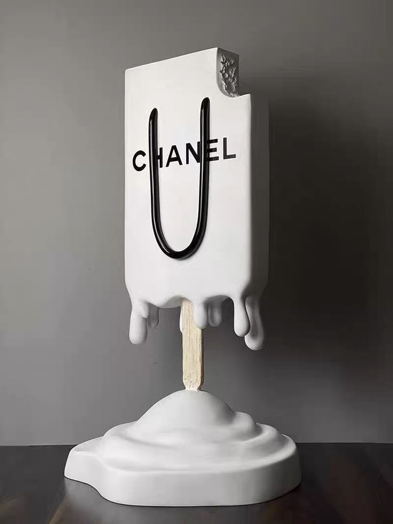 Paris Popsicle Sculpture