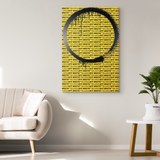 Caution Tape Canvas Print