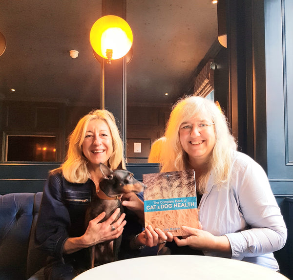 Anna Webb Lise Hansen and her book the Complete Book of Cat and Dog health