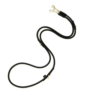D&H Rolled Leather Multi-Purpose Adjustable Training Lead