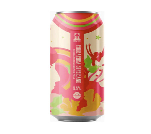 Rhubarbra Streisand from Brew York - Milkshake PA  craft beer-craft beer-beer-beer near me-craft beer local delivery-craft beer near me-craft beer pubs-Hull-local delivery-local-order online-440ml can