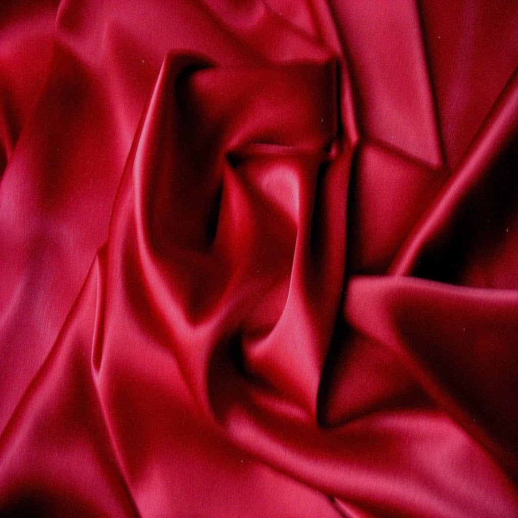 This A Touch of Satin pillowcase is made from lipstick red color charmeuse satin with French seams, washable and dryer safe.