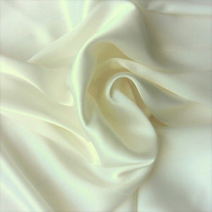 This A Touch of Satin pillowcase is made from off white charmeuse satin with French seams, washable and dryer safe.