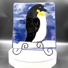 Load image into Gallery viewer, Animals - Penguin against icy moon