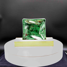 Load image into Gallery viewer, Holiday - Green square dish