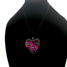 Load image into Gallery viewer, Jewelry - Heart pendant with stars and stripes