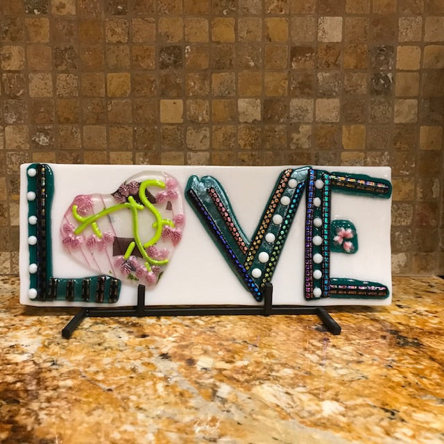 Decorative - LOVE sign with heart