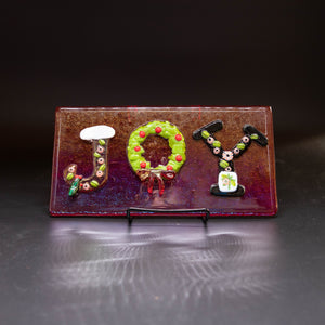 Holiday - Decorative tile, JOY