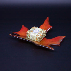 Bowl - Maple leaf shaped soap dish