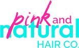 Pink and Natural Hair Co logo