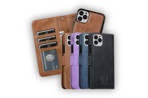 Leather Folio Case for iPhone